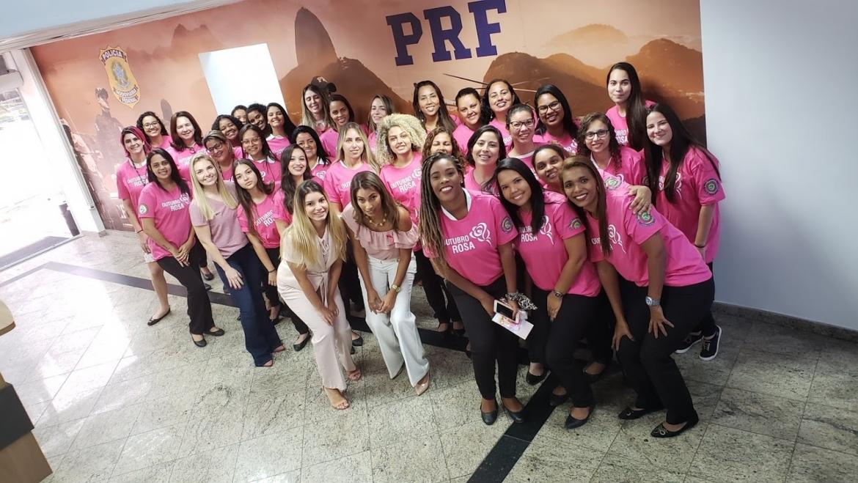 PRF e SINPRF-RJ promovem evento do Outubro Rosa no RJ