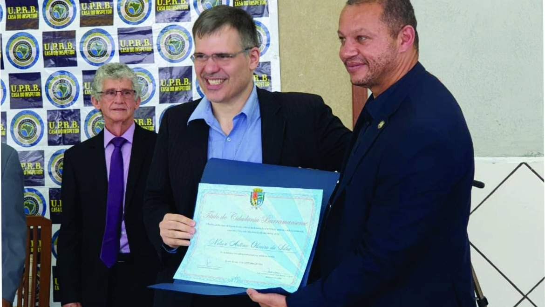 Presidente do SINPRFRJ é condecorado em cerimônia na Casa do Inspetor