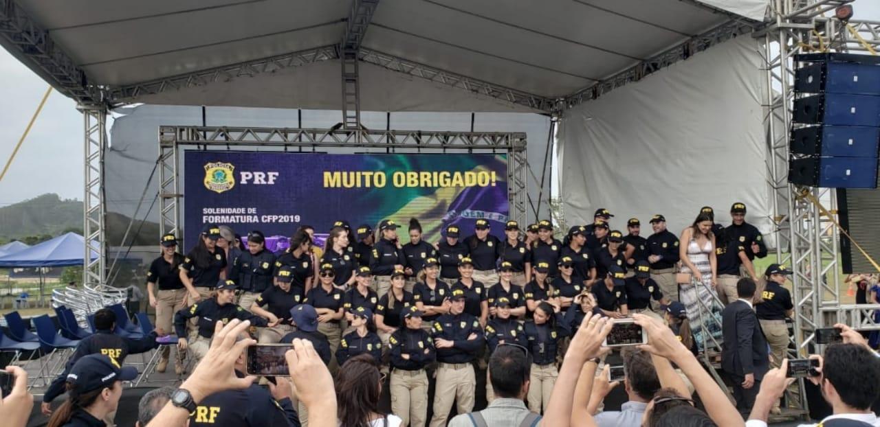 SINPRFRJ participa da formatura dos 1165 novos PRFs na UNIPRF