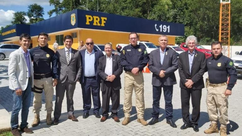 PRF inaugura duas delegacias no Rio de Janeiro