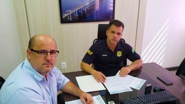 SINPRFRJ participa de bate-papo com superintendente e efetivo do RJ