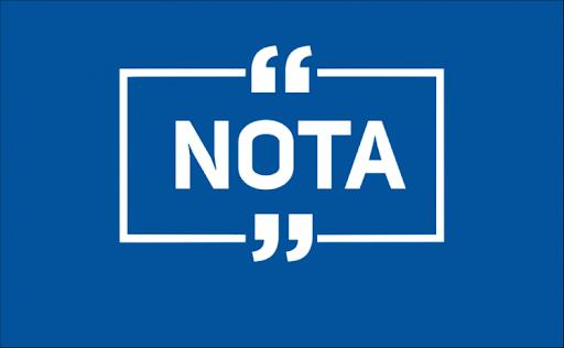 NOTA AOS ASSOCIADOS