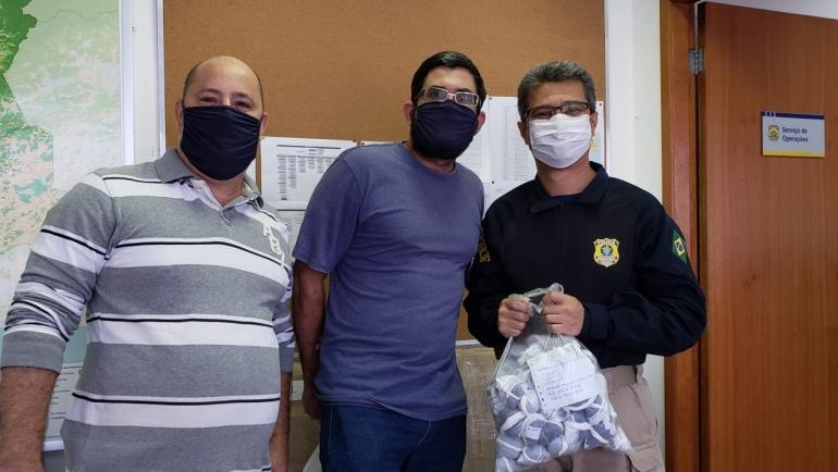 SINPRFRJ realiza segunda etapa de entrega das máscaras