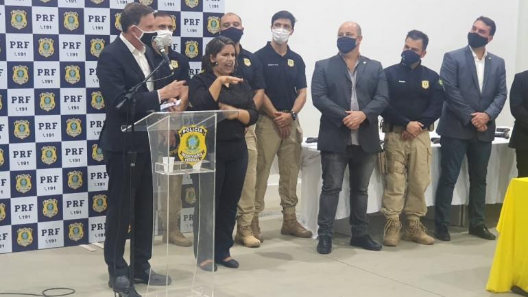 SINPRFRJ participa de reunião sobre a Guarda Municipal do Rio
