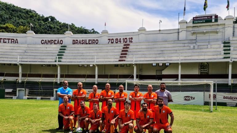 Futebol do SINPRFRJ se despede de 2020 com jogo nas Laranjeiras