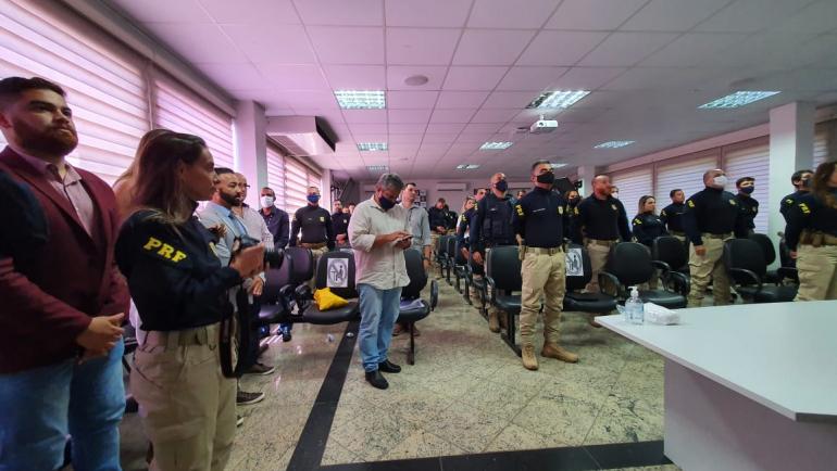 Novos PRFs foram empossados, ontem, no Rio de Janeiro