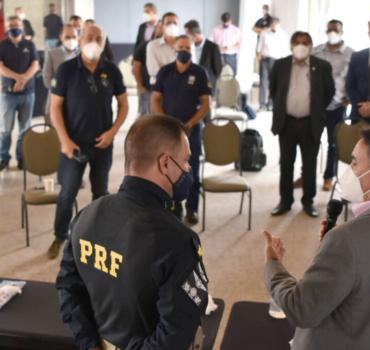 Diretor-Geral garante gestão aberta a demandas dos policiais