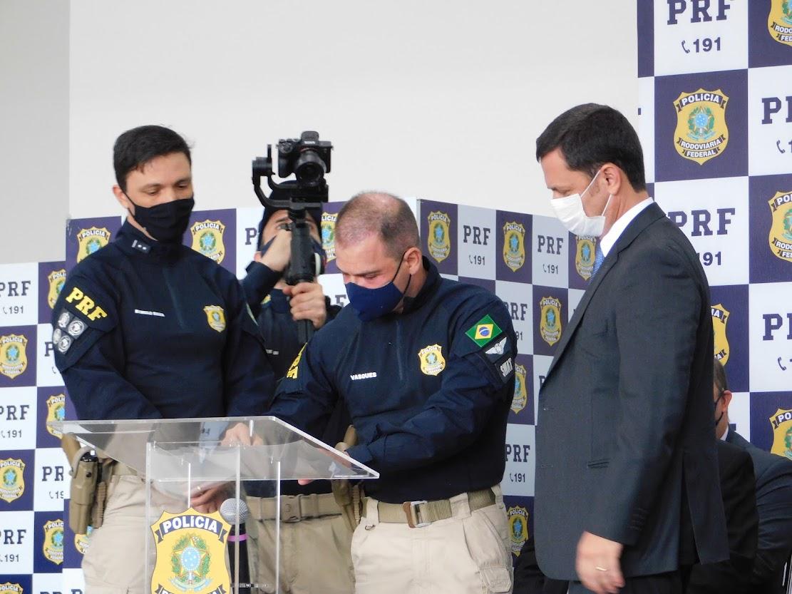 SINPRFRJ participa da solenidade de passagem de comando na PRF RJ